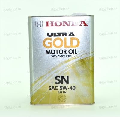 Honda Ultra GOLD 5W-40 SN моторное масло 64pitstop.ru