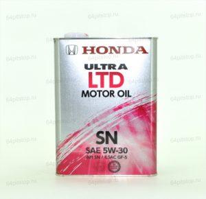 HONDA Ultra Ltd SN 5W30 моторное масло 64pitstop.ru