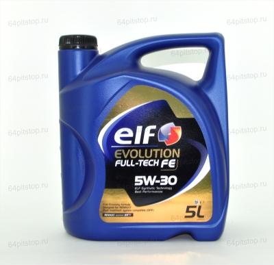 Моторное масло ELF EVOLUTION FULL-TECH FE 5W-30 64pitstop.ru