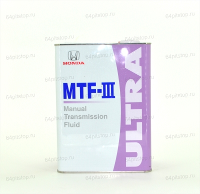 Honda MTF-III трансмиссионное масло 64pitstop.ru