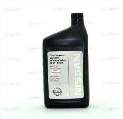 NISSAN CVT FLUID NS-3 трансмиссионное масло 64pitstop.ru