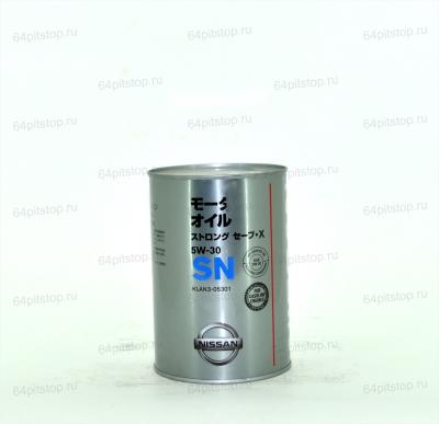 Nissan 5w-30 SN моторное масло 64pitstop.ru