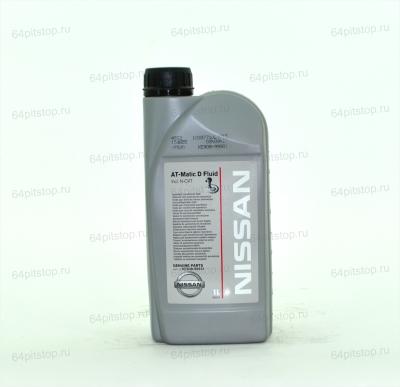 NISSAN ATF Matic Fluid D трансмиссионное масло 64pitstop.ru
