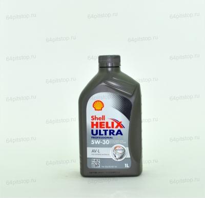 SHELL HELIX ULTRA PROFESSIONAL AV-L 5W-30 64pitstop.ru