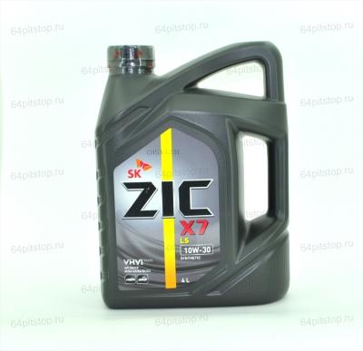 Моторное масло ZIC X7 LS 10W-40 64pitstop.ru