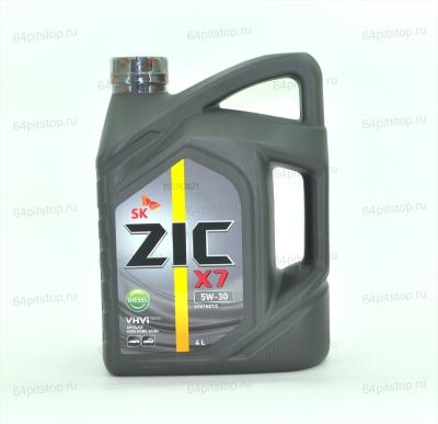 Моторное масло ZIC X7 Diesel 5W-30 64pitstop.ru
