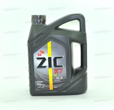 Моторное масло ZIC X7 LS 5W-30 64pitstop.ru