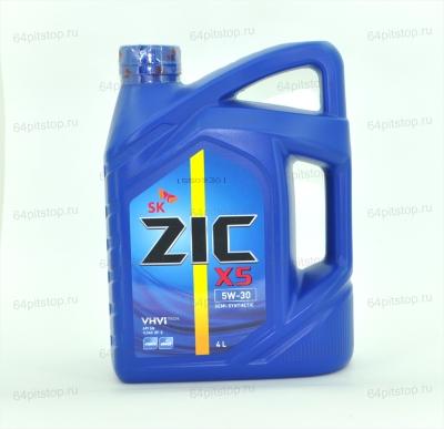 Моторное масло ZIC X5 5W-30 64pitstop.ru