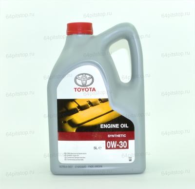 Toyota 0W-30 оригинальное моторное масло 64pitatop.ru