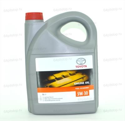 TOYOTA Engine Oil Fuel Economy 5W30 оригинальное моторное масло 64pitstop.ru
