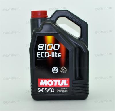 MOTUL 8100 ECO-LITE 5W-30 64pitstop.ru