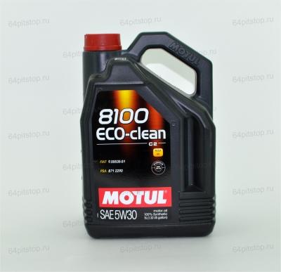 MOTUL 8100 ECO-CLEAN 5W-30 64pitstop.ru
