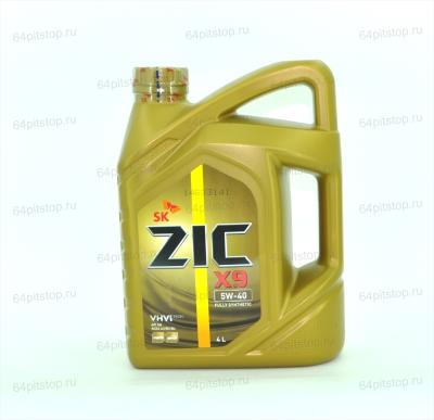 Моторное масло ZIC X9 5W-40 64pitstop.ru