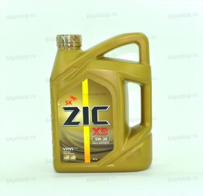 Моторные масла ZIC X9 5W-30 64pitstop.ru