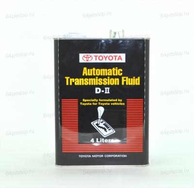Toyota Automatic Transmission Fluid D-II 64pitstop.ru
