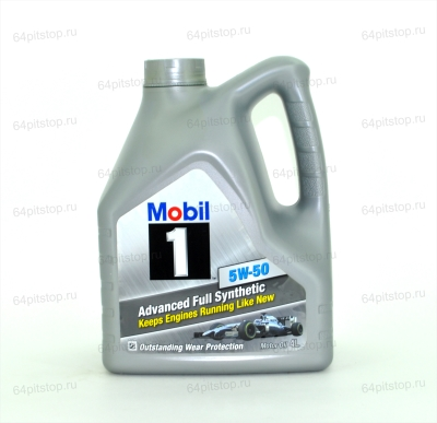 Mobil 1™ FS x1 5W-50 моторное масло 64pitstop.ru