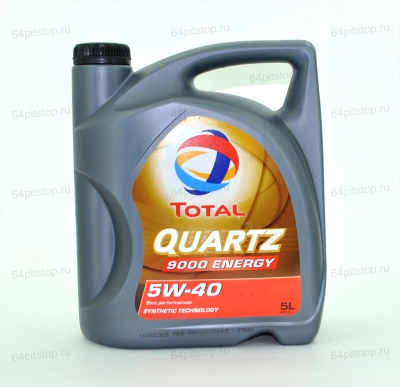 МОТОРНОЕ МАСЛО TOTAL QUARTZ 9000 5W-40 64pitstop.ru