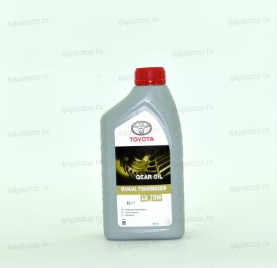 TOYOTA GEAR OIL LV 75W трансмиссионное масло 64pitstop.ru