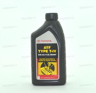 TOYOTA ATF TYPE T-IV трансмиссионное масло 64pitstop.ru