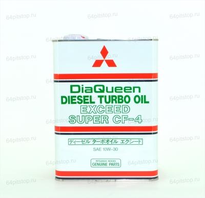 Mitsubishi DiaQueen Diesel Turbo 10W30 CF-4 моторное масло 64pitstop.ru