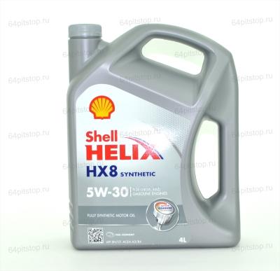 Shell Helix НХ8 5W/30 64pitstop.ru