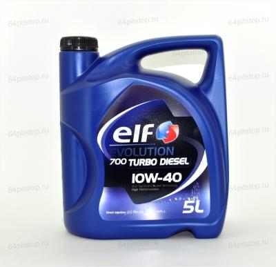 Моторное масло ELF EVOLUTION 700 TURBO DIESEL 10W-40 64pitstop.ru