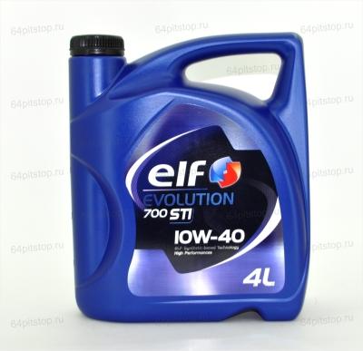 Моторное масло EVOLUTION 700 STI 10W-40 64pitstop.ru