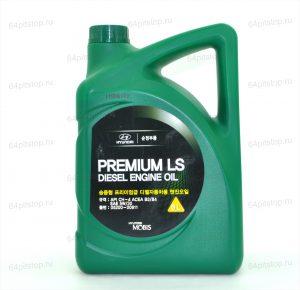 hyundai premium ls diesel engine oil 5w-30 64pitstop.ru моторные масла