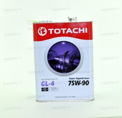 Totachi Super Hypoid Gear 75W-90 трансмиссионное масло 64pitstop.ru