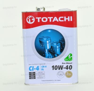 Totachi Eco Diesel 10W-40 моторные масла 64pitstop.ru