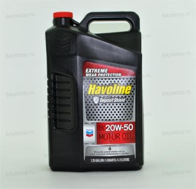 chevron havoline sae 20w50 64pitstop.ru моторные масла