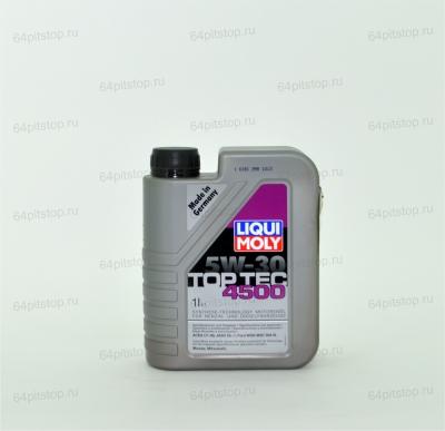 liqui moly top tec 4500 5w-30 моторные масла 64pitstop.ru