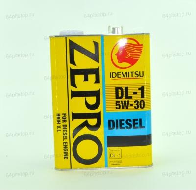 Zepro Diesel DL-1 5w-30 моторные масла 64pitstop.ru
