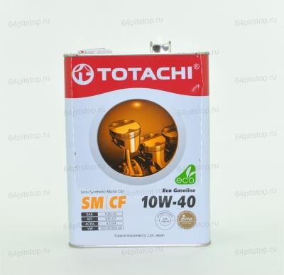 Totachi Eco Gasoline 10W-40 (new) моторные масла 64pitstip.ru