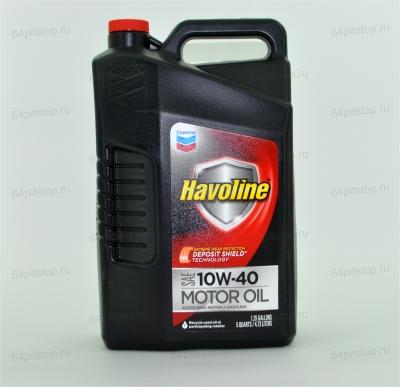 chevron havoline sae 10w40 моторные масла 64pitstop.ru
