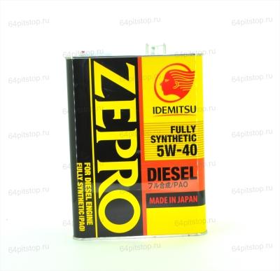 Zepro Diesel 5w-40 моторные масла 64pitstop.ru