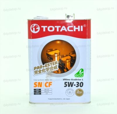 Totachi Ultima Ecodrive L 5W-30 64pitstop.ru моторные масла