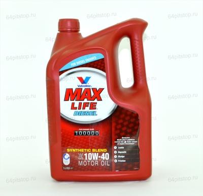 valvoline maxlife diesel 10w-40 отзывы 64pitstop.ru моторные масла