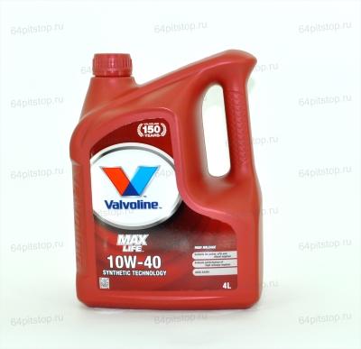 valvoline maxlife 10w 40 synthetic technology 64pitstop.ru моторные масла