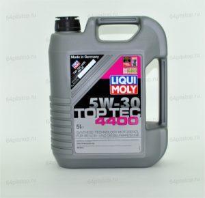 liqui moly 5w-30 top tec 4400 моторные масла 64pitstop.ru