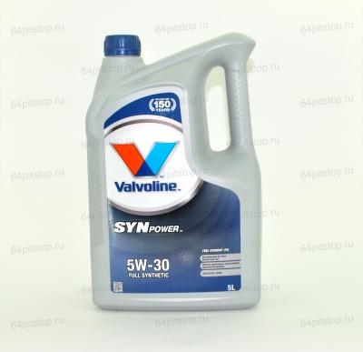 valvoline synpower 5w-30 64pitstop.ru моторные масла