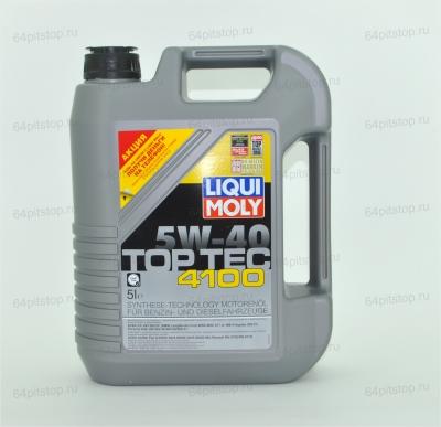 liqui moly top tec 4100 5w-30 моторные масла 64pitstop.ru