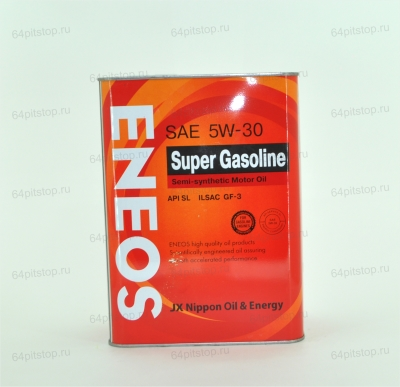 eneos sae 5w-50 super gasoline моторное масло 64pitstop.ru
